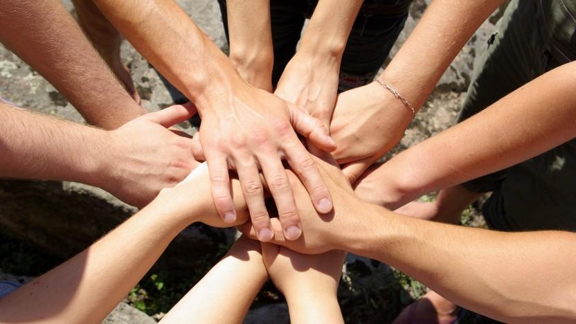 Bøn og fællesspisning