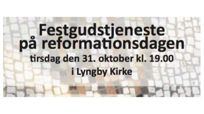 Festgudstjeneste på reformationsdagen